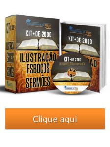 kit ilustrações e esboços bíblicos