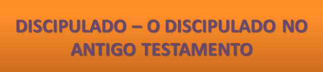 AULA - O DISCIPUALDO NO AT